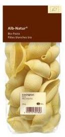 Alb Gold Makaron semolinowy duże muszle conchglioni BIO