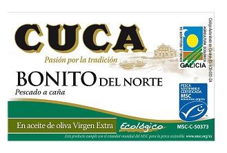Cuca Tuńczyk biały bonito w BIO oliwie z oliwek
