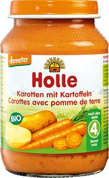 Holle Marchew z ziemniakami bezglutenowe BIO