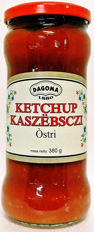 Dagoma Кетчуп Кашубским резким