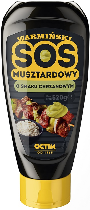 Octim Warminski sauce raifort de moutarde