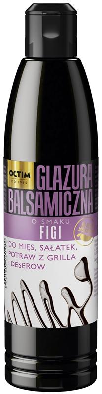 Octim Glazura balsamiczna  o smaku figi