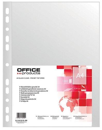 Office Koszulki na dokumenty  PP A4 groszkowe
