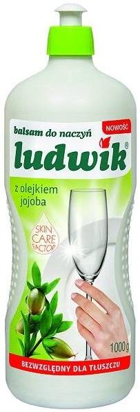 Ludwik Płyn do mycia naczyń balsam z olejkiem jojoba