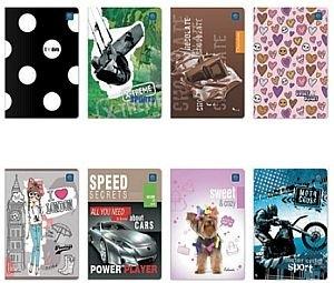 Interdruk Zeszyt A5 32 kartki trzy kolorowe linie