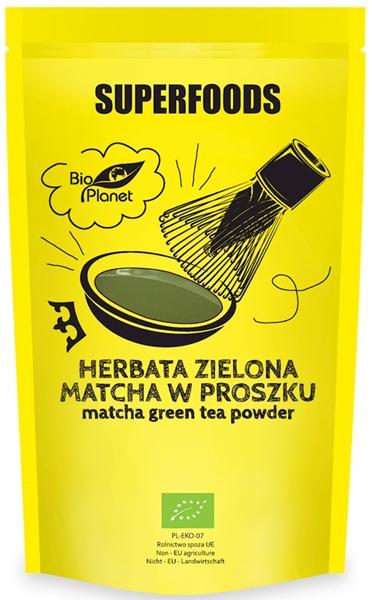Bio Planet Herbata zielona Matcha w proszku BIO