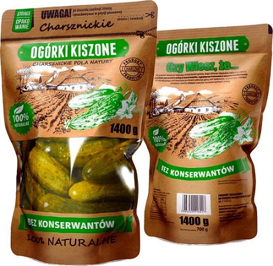 Charsznickie ogórki kiszone bez konserwantów