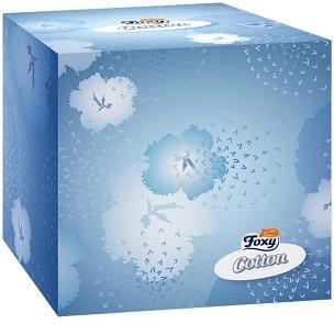 Foxy Cotton Ultra miękkie chusteczki higieniczne