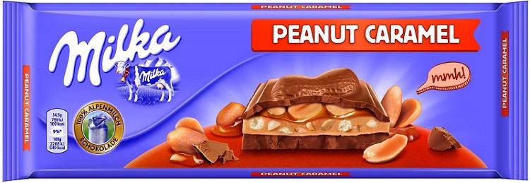 Milka Czekolada mleczna  Peanut Caramel