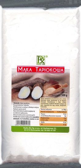 harina de tapioca Radix-Bis