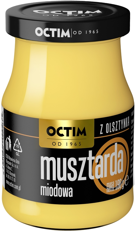 Octim Musztarda Mazurska miodowa