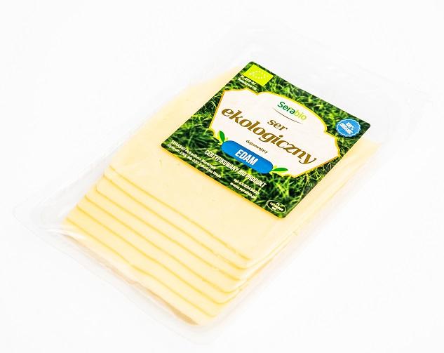 Serabio ser żółty ekologiczny Edam plastry
