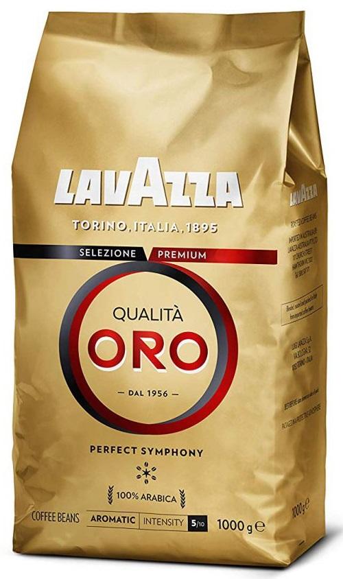Lavazza Kawa ziarnista Qualita ORO 100% Arabica