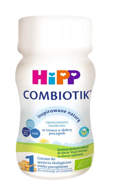 HiPP 1 BIO COMBIOTIK w płynie mleko modyfikowane początkowe