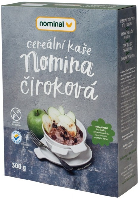 Nominal instant porridge of grain sorghum
