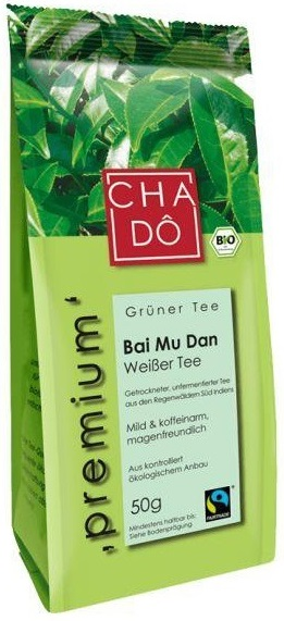 ЧА-DO экологический, белый чай Бай Му Дан