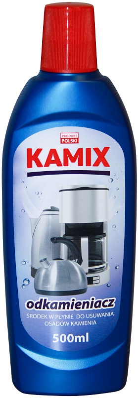 Kamix agent in the liquid for removing limescale
