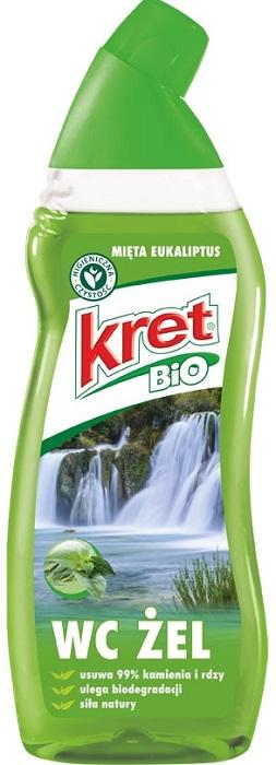 Kret Bio żel do wc biodegradowalny mięta - eukaliptus