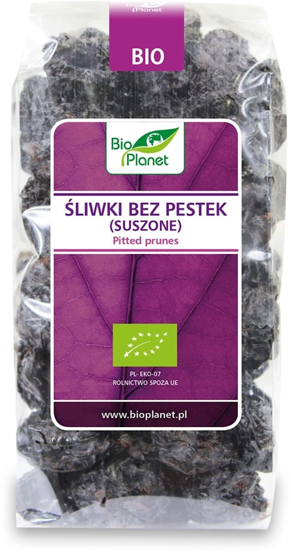 Planet Organic pitted dried plums BIO