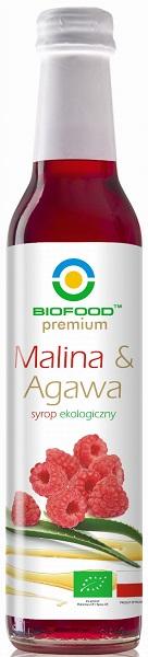 Bio Food Syrop malina z agawą BIO