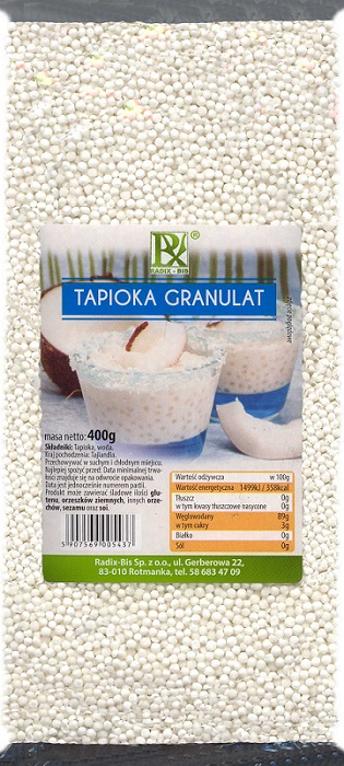 Radix-Bis Tapioka granulat