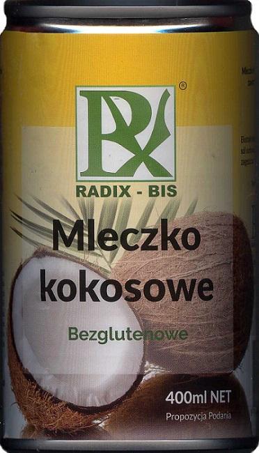 Radix-Bis Mleczko kokosowe bezglutenowe