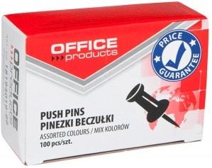 Office Pinezki beczułki do tablic mix kolorów