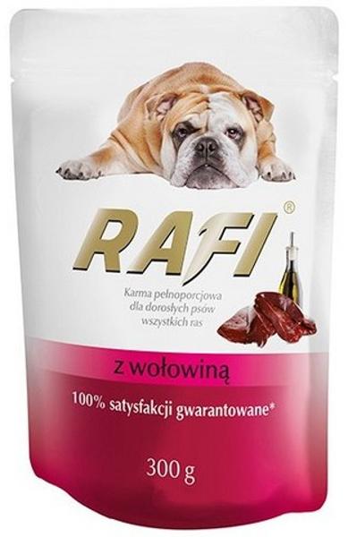 Rafi Karma pełnoporcjowa dla dorosłych psów z wołowiną