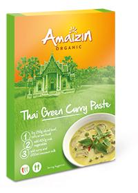 Amaizin Pasta Curry Thai Green BIO