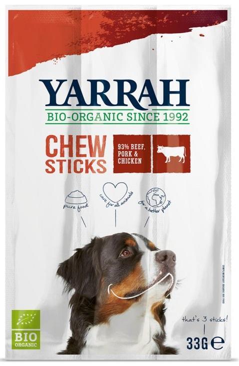 Yarrah Dla psa Przysmaki wołowe ze spiruliną i algami morskimi eko