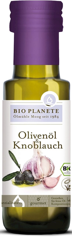 Bio Planete Oliwa z oliwek z czosnkiem BIO