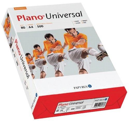 Papier ksero Plano Universal A4 80g/m2, ryza 500 kartek