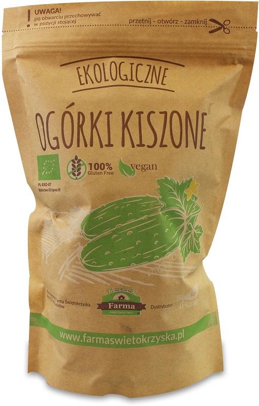 Granja Kielce pepinos encurtidos gluten libre BIO