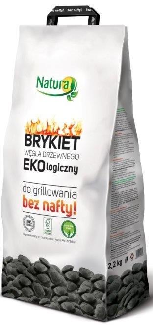 Bionaturo parrilla briqueta de carbón ecológica sin aceite