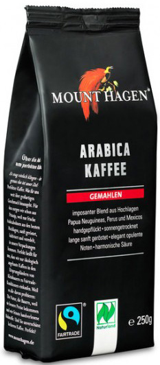 Mount Hagen Kawa mielona arabica fair trade BIO