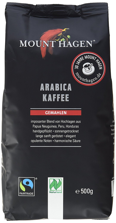 Mount Hagen kawa mielona arabica 100% fair trade BIO