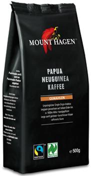 Mount Hagen kawa mielona arabica 100% Papua Nowa Gwinea fair trade BIO
