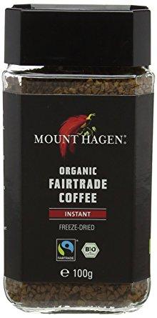 Mount Hagen kawa rozpuszczalna arabica/robusta fair trade BIO