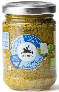 Alce Nero Pesto bazyliowe z tofu wegańskie BIO
