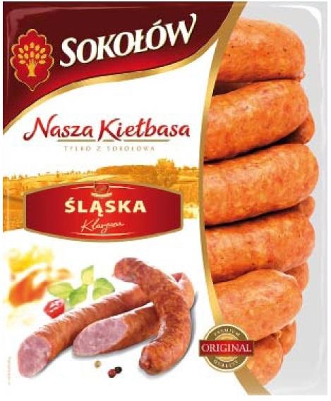Sokołów Nasza Kiełbasa Śląska klasyczna