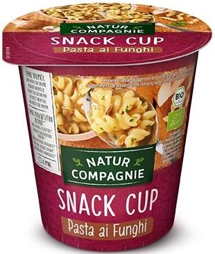 Natur Compagnie Danie w kubku makaron z grzybami BIO