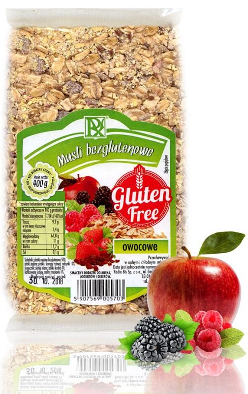 Radix-Bis Fruta Muesli Sin Gluten