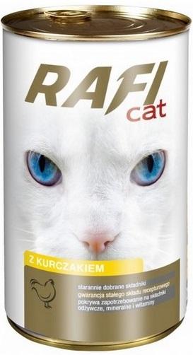 Rafi Gato Alimento completo para gatos adultos de todas las razas de pollo