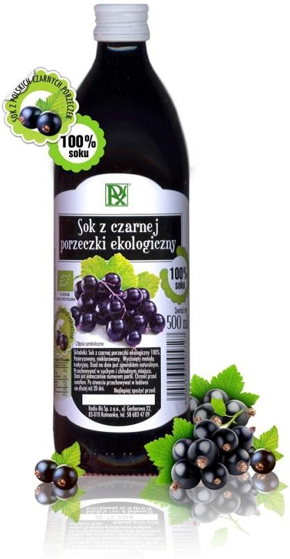 Radix-Bis Sok BIO z czarnej porzeczki 100% ekologiczny