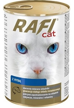 Rafi Cat Complete cat food for all cats with salmon