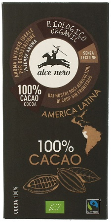 Alce Nero Tabliczka gorzka 100% Kakao BIO