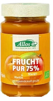 Allos Mus Apricot-Mango 75% BIO Fruit