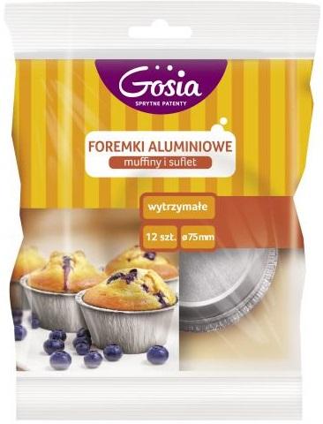moldes de aluminio Goshia para magdalenas y soufflé