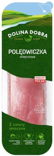 Goodvalley Polędwiczka wieprzowa z hodowli bez użycia antybiotyków i bez GMO.