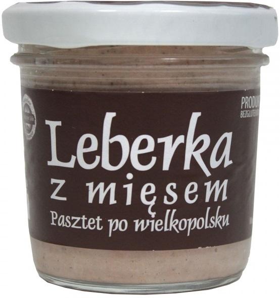 Tradycyjne Jadło Leberka z mięsem